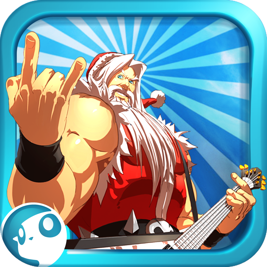 Santa Rockstar by Clarin Global S.A. icon
